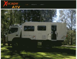 xscape-atv.com screenshot