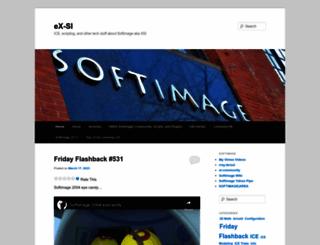 xsisupport.com screenshot