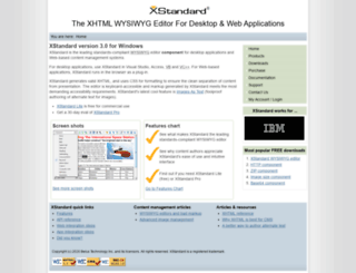 xstandard.com screenshot