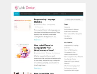 xswebdesign.com screenshot