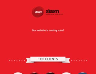 xteam.com.eg screenshot