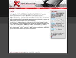 xtechnologysolutions.com screenshot