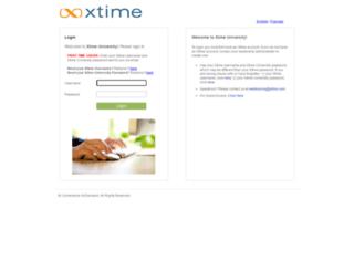 xtime.csod.com screenshot