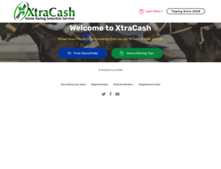 xtracash.co.za screenshot