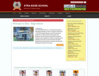 xtraedgeschool.com screenshot