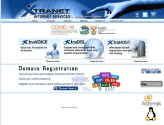xtravoice.co.za screenshot