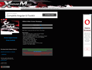 xtreme-mod.net screenshot