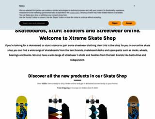 xtreme-skate.com screenshot