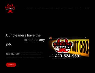 xtremecleaners.com screenshot