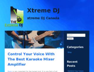 xtremedj.ca screenshot