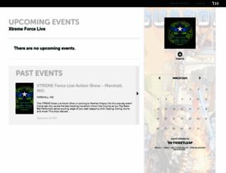 xtremeforcelive.ticketleap.com screenshot