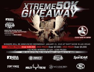 xtremegiveaway.com screenshot