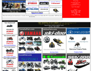 xtremepowersports.com screenshot