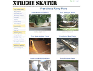 xtremeskater.com screenshot