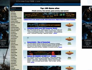 xtremetop100.com screenshot