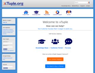 xtuple.org screenshot