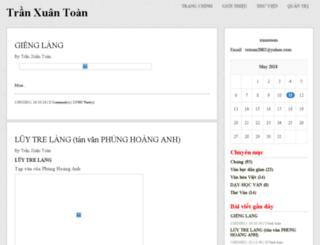 xuantoan.vnweblogs.com screenshot