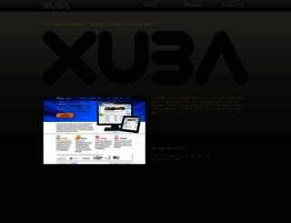 xuba.com.au screenshot
