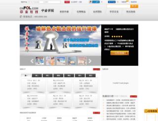 xueyuan.cnfol.com screenshot