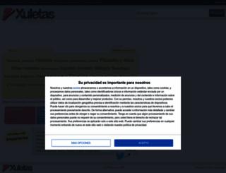 xuletas.es screenshot