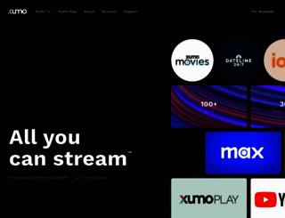 xumo.com screenshot