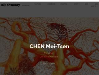 xunartgallery.com screenshot