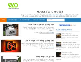 xuongiacongbanghieu.com screenshot