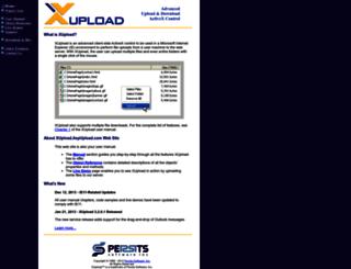 xupload.aspupload.com screenshot