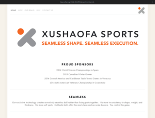 xushaofa-sports.com screenshot