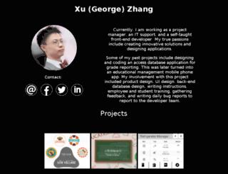 xuzhang.ca screenshot