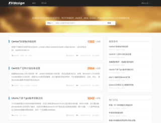 xvdesign.com screenshot