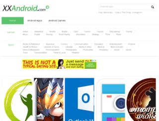 xxandroid.com screenshot