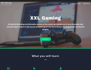 xxlgaming.com screenshot