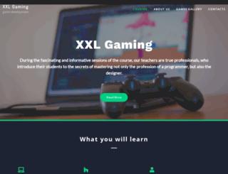 xxlgaming.com screenshot