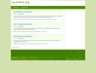 xy-artikel.org screenshot