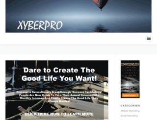 xyberpro.com screenshot