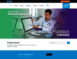 xymogen.com screenshot