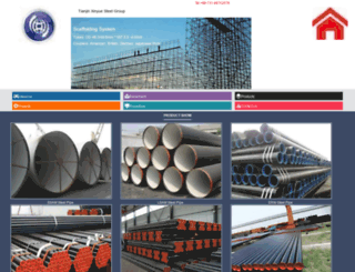 xysteelpipe.com screenshot