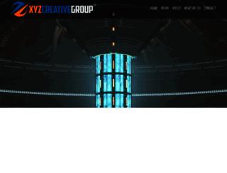 xyzcreativegroup.com screenshot