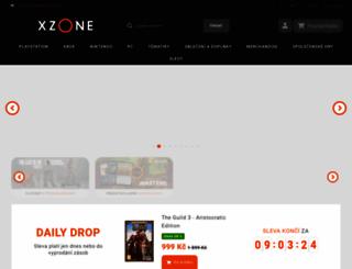 xzone.cz screenshot