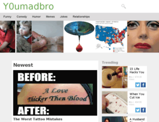 y0umadbro.com screenshot