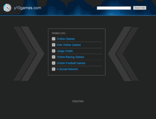 y10games.com screenshot