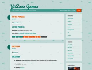 y3zonegames.wordpress.com screenshot