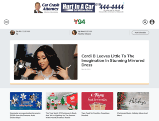 y94fm.iheart.com screenshot