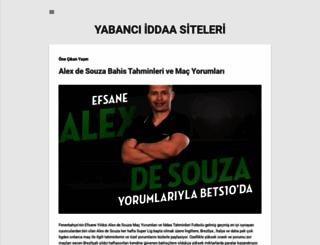 yabanciiddaa.blogspot.com screenshot