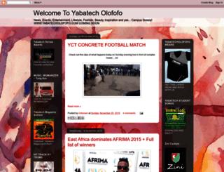 yabatecholofofo.blogspot.com screenshot
