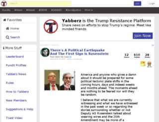 yabberz.com screenshot