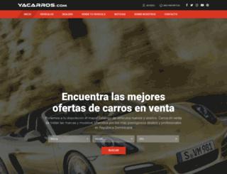 yacarros.com screenshot
