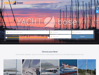 yacht-base.com screenshot