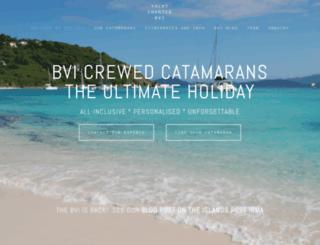 yacht-charter-bvi.com screenshot